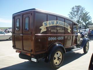 1932 Ford panel van