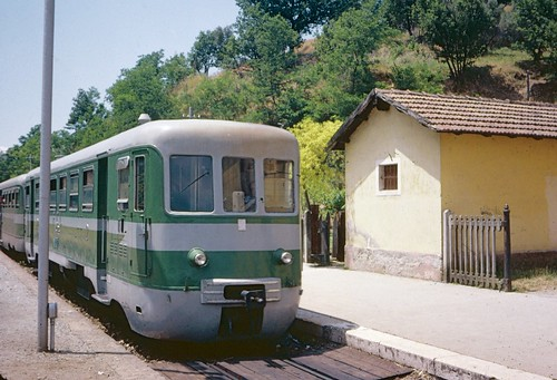 FCL railcar at Pedace in 1978