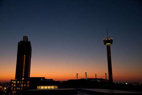 usa tower sunrise texas center convention gonzalez americas 2010 canonefs1585mmf3556isusm