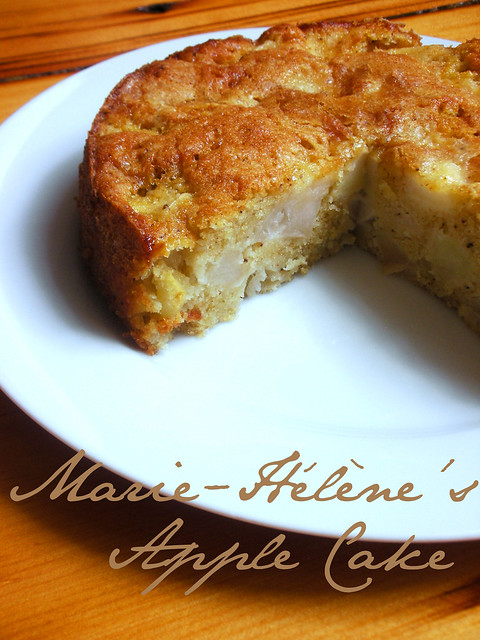 marie-hélène's apple cake | Flickr - Photo Sharing!