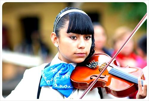 Mariachi Girl in Mexico City