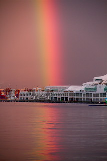 The pot of gold can be found at Canada place