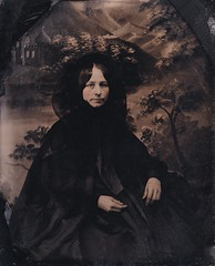 Victorians and Edwardians in Mourning or Wearing Photographic Sentimental Jewelry, Post-mortem Photos, Mourning Ephemera