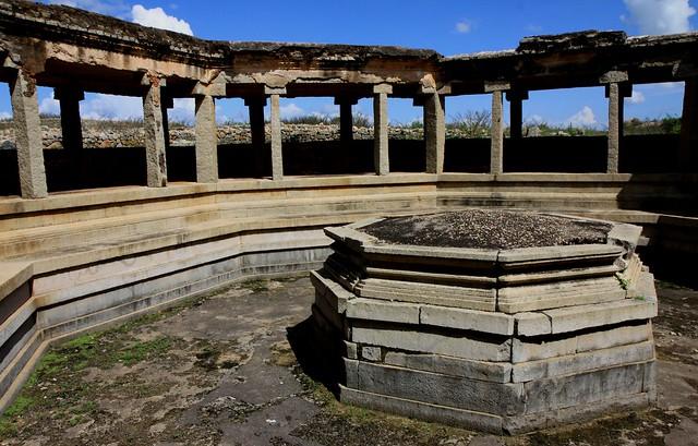 royal center hampi Octagonal Bath
