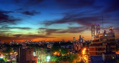 Extraña luz al anochecer - Strange light in the evening