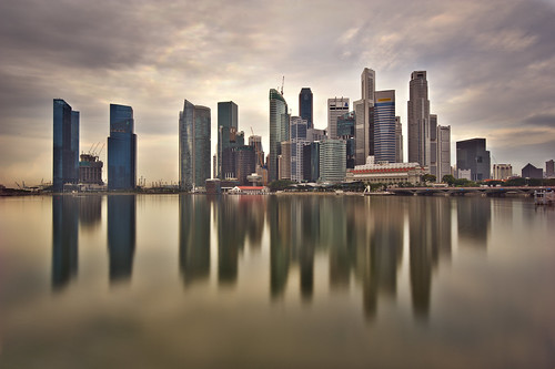 Singapore, Marina Bay - Today,  morning