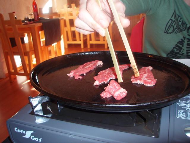 Yakiniku de ternera del maguro ya restaurante japon s de for Restaurante japones alicante