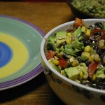 Avocado Saladita (easily made vegan)