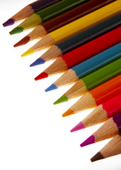 orange, pencil,