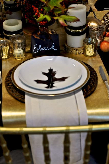 Thanksgiving Table Design Traditional 9-Camille Styles Events