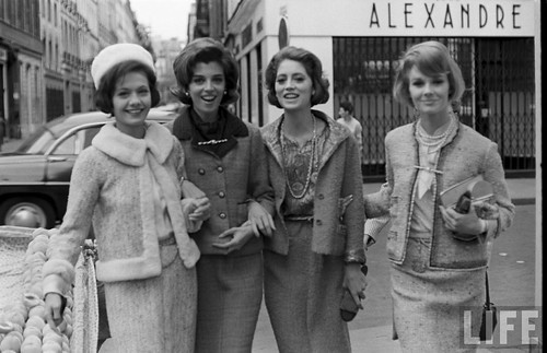 Chanel collection 1961