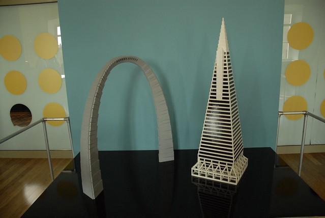 Lego Gateway Arch And Transamerica Pyramid Flickr
