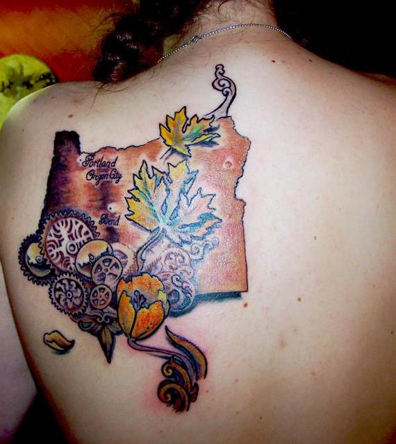 Oregon state tattoo flickr photo sharing for Celtic tattoo artists portland oregon