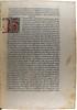 Manuscript initial in Petrarca, Francesco: De viris illustribus [Italian]