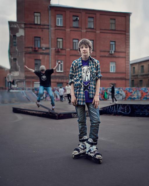 A stranger, Ukraine