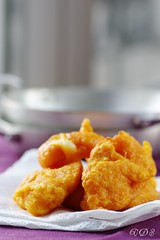 Frittelle zucca con scamorza affumicata- Fried pumpkin with cheese