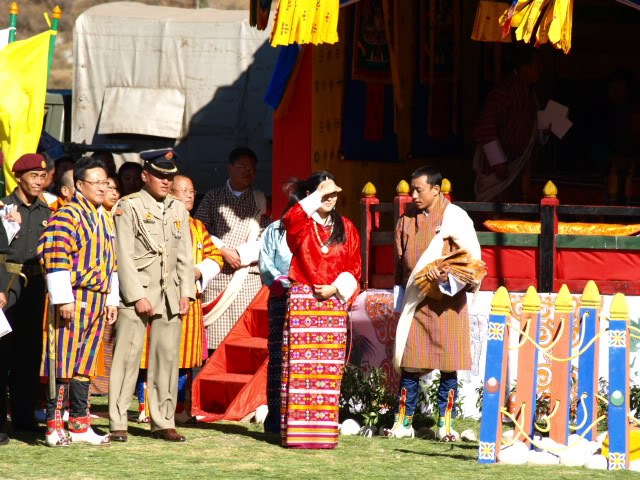A Princess of Bhutan at the 100th National Day celebration in Jakar