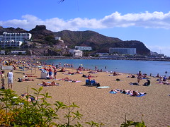 Beach at Puerto Rico, Gran Canaria