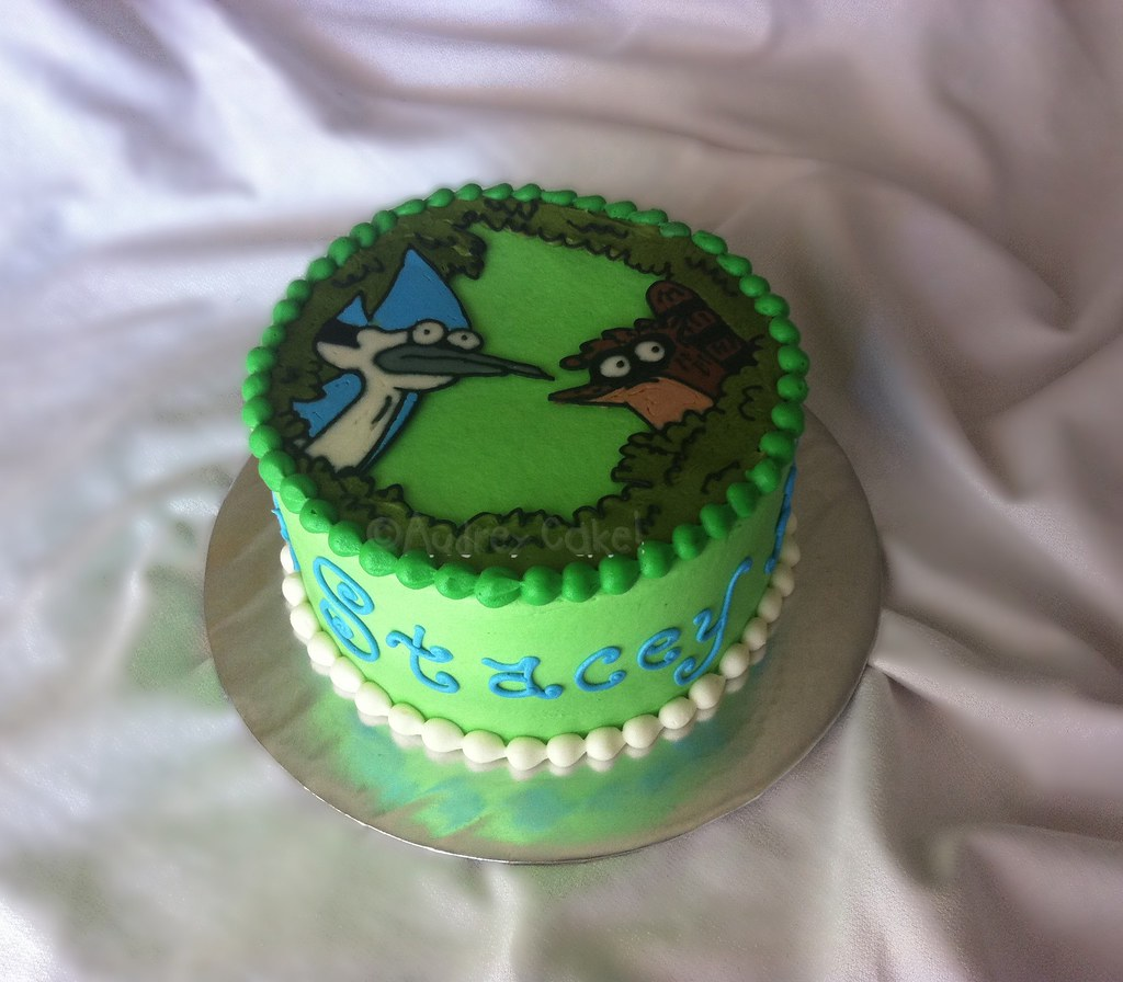 Farm Birthday Cake Image
