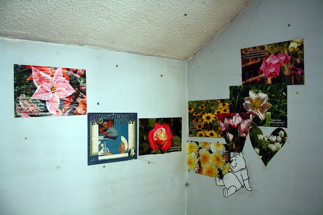 winnie the pooh flower collage