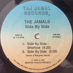 THE JAMALS:SIDE BY SIDE(LABEL SIDE-B)