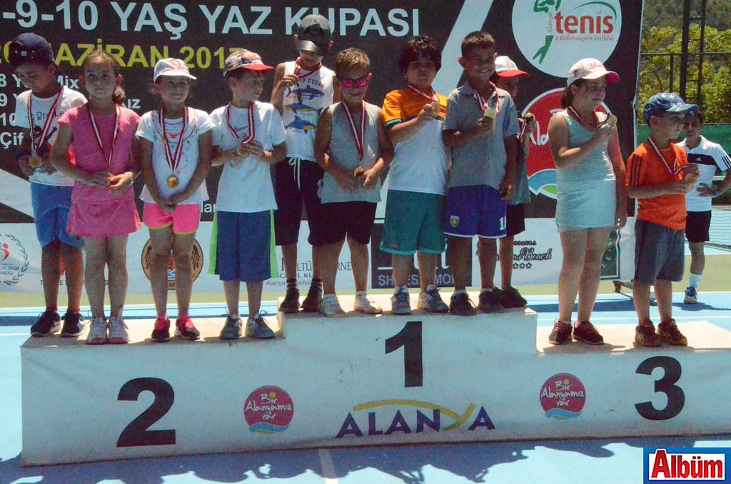 8-9-10 Yaş Yaz Kupası Tenis Turnuvası sonuçlandı2