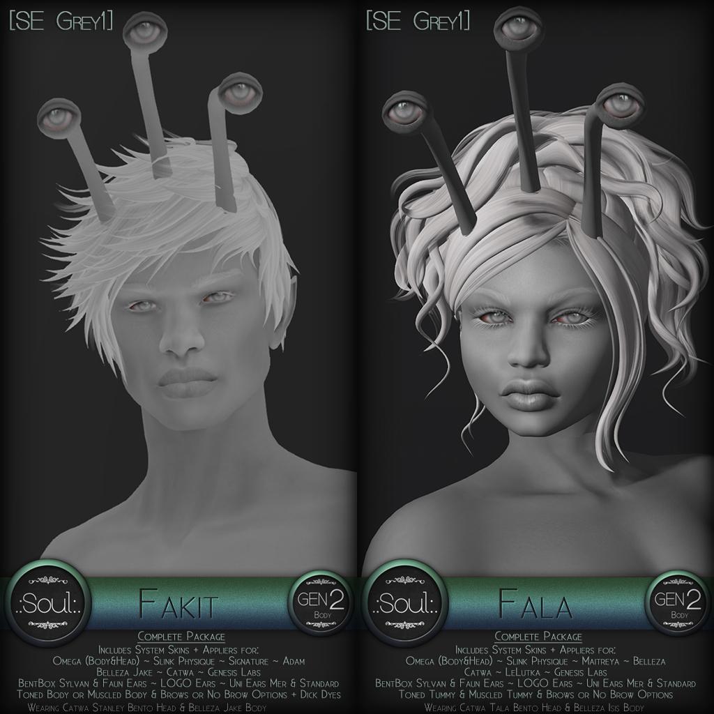 .:Soul:. Gen2 - Fala & Fakit - SE Grey1 - SecondLifeHub.com