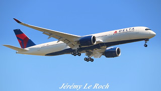 AIRBUS A350-900XWB DELTA AIRLINES F-WZGP MSN115 (N501DN) A L'AEROPORT TOULOUSE-BLAGNAC LE 05 07 17