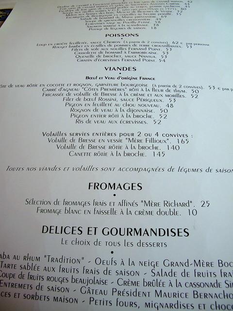 Paul bocuse la carte menu d 39 t 2009 read about for Menu ete original
