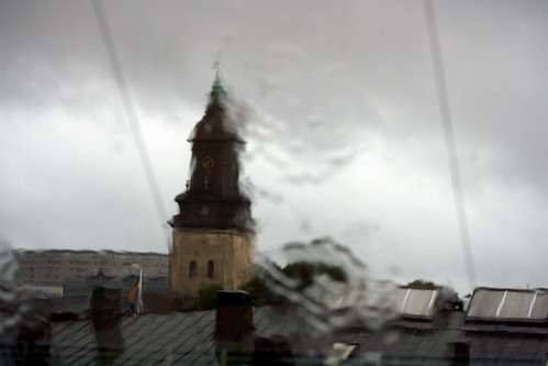 Rainy clocktower