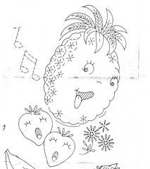 Design 901 Pineapple Strawberry