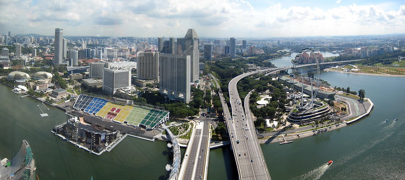 Views from Skypark @ Marina Bay Sands