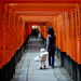 holding your hands at Inari Shrine by pitoT+
