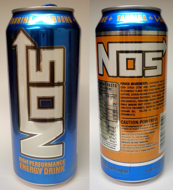 Nos Energy Drink Warning