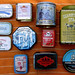Favourite tins, collected by maralina!