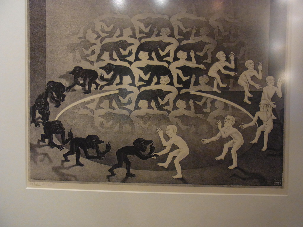 Escher, The Encounter