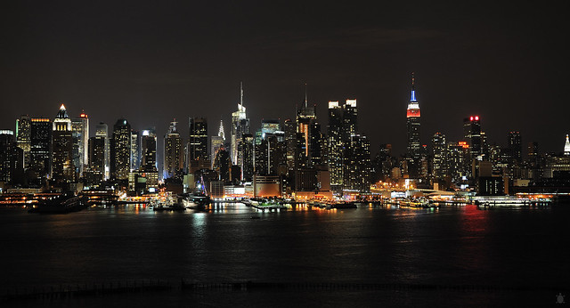 NYC skyline - Flickr CC arturodonate