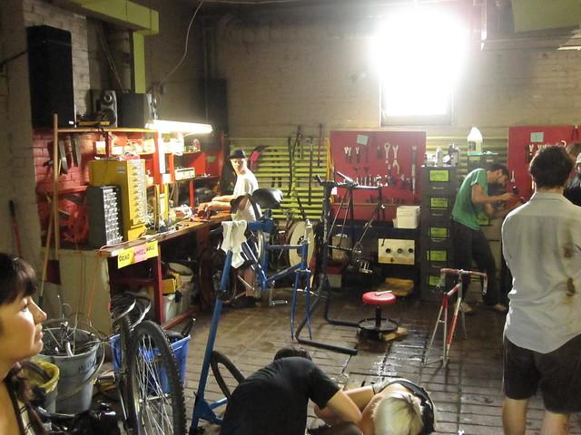 Bike Sauce Workspace