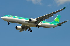 Aer Lingus - Airbus A330-300 - EI-ELA - St. Patrick (Padraig) - John F. Kennedy International Airport (JFK) - September 4, 2010 2 186 RT CRP