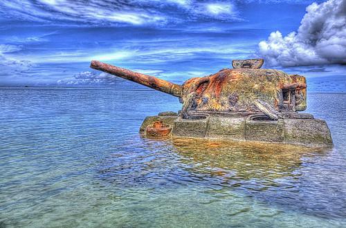 tank wwii saipan cnmi