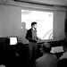 Michael Habib presenting! by Ian Mulvany