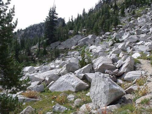 Traverse to Angell Pass