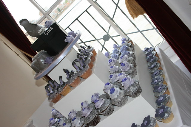 Cupcakes For A 40th Birthday Party Flickr Photo Sharing