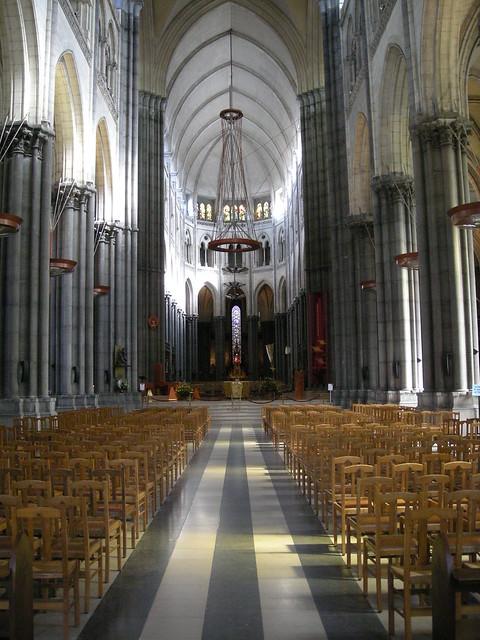 Nef de la basilique cath drale notre dame de la treille de lille flickr photo sharing - Eglise notre dame de la treille lille ...