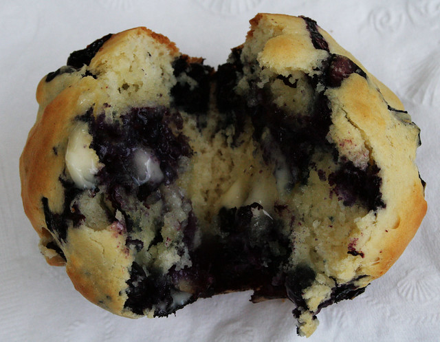grammy's wonderful blueberry muffins