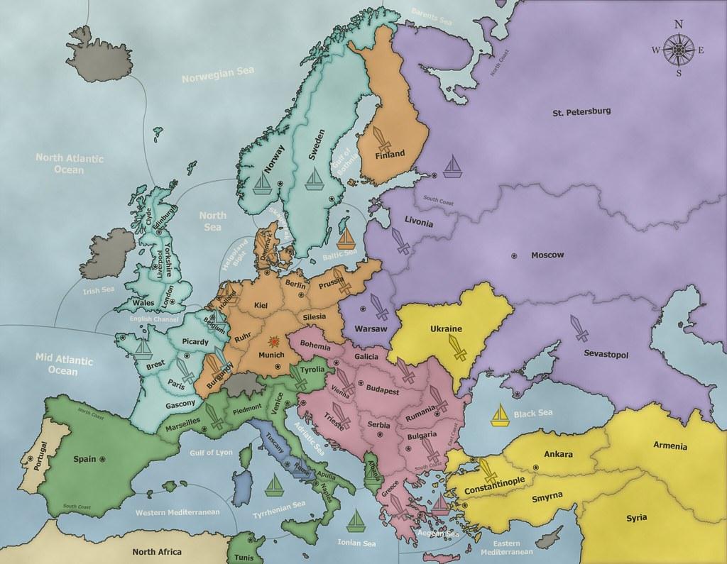 Diplomacy Map F1903   Nimblewright2010   Flickr on
