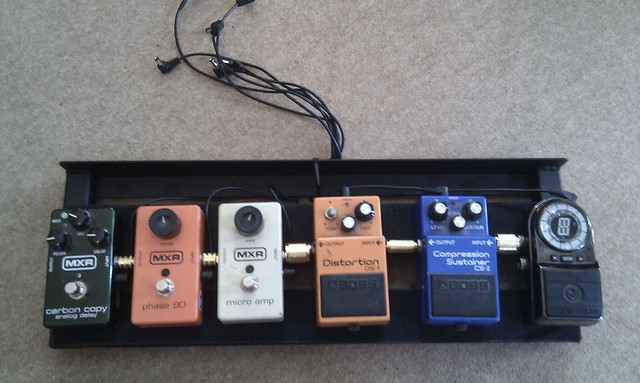 Photo:Pedal board By wetwebwork