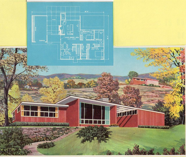 Homes And Plans Of The 1940 39 S 50 39 S 60 39 S And 70 39 S