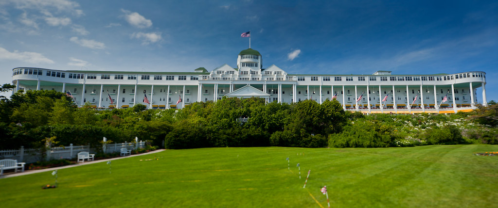 The Grand Hotel. Mackinac Island.