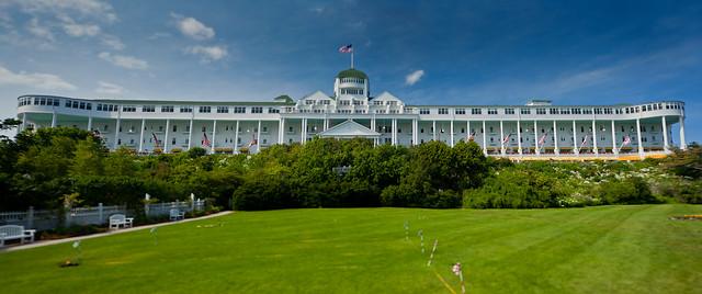 The Grand Hotel. Mackinac Island.